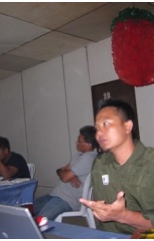 Pelatihan tentang Konvensi-Konvensi  Internasinal : CITES , Konvensi ILO dan ITTA, disampaikan oleh Pak Joko Sarjito  dari WWF – Program GFTN